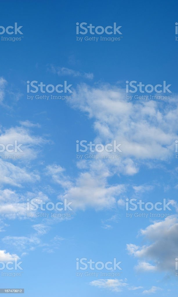 Cloudscape (XXXL size) royalty-free stock photo