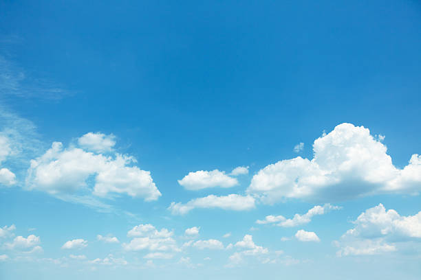 cloudscape Blue sky background with white clouds cloud sky stock pictures, royalty-free photos & images