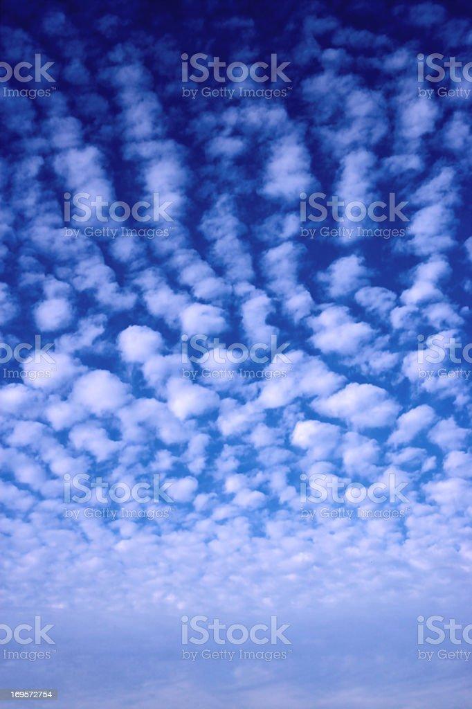 Wolkengebilde. Lizenzfreies stock-foto