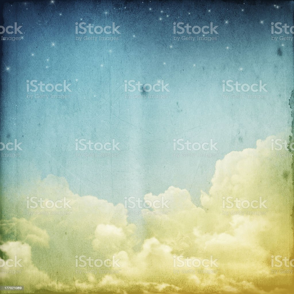 cloudscape royalty-free stock photo