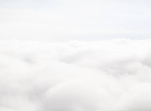 cloudscape - kabarık stok fotoğraflar ve resimler