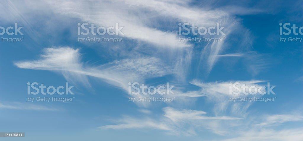 Cloudscape (image size XXXL) royalty-free stock photo