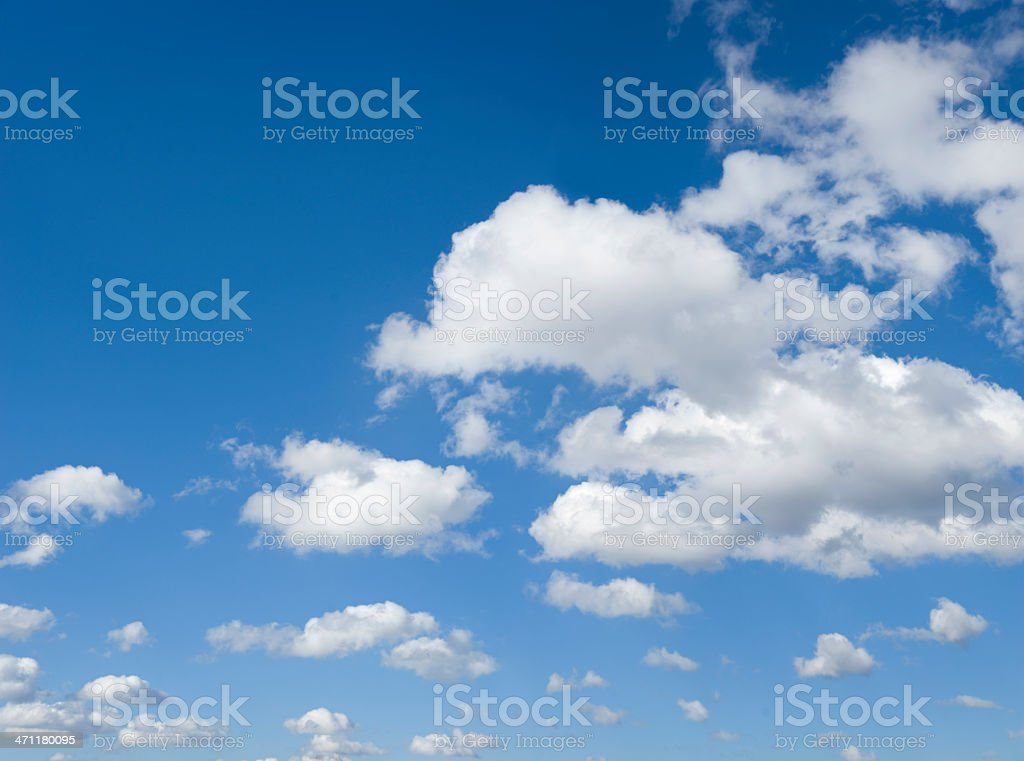 Cloudscape (image size XXXL) royalty-free stock photo