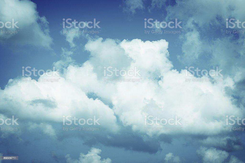 Fonds de nuage photo libre de droits
