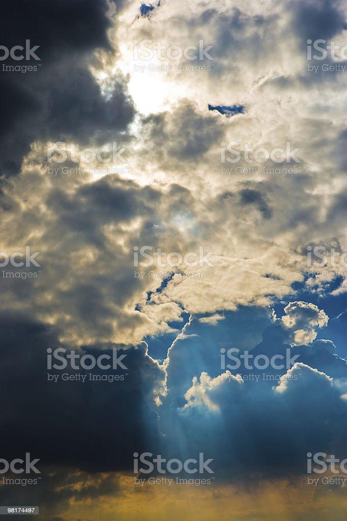 구름 풍경 royalty-free 스톡 사진