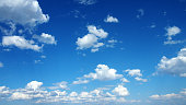 雲模様、ブルースカイ