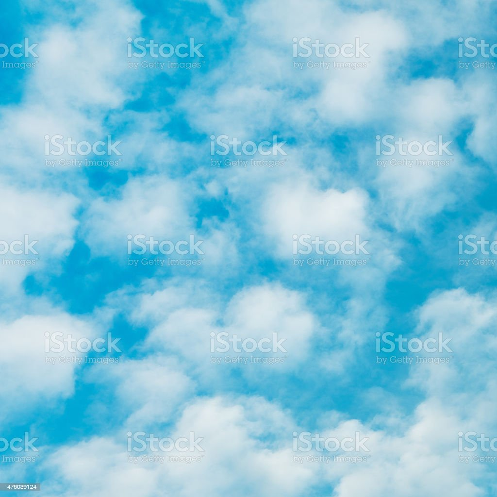 Cloudscape With Stratocumulus Clouds stock photo