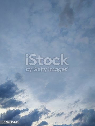 istock cloudscape with white altocumulus clouds at evening 1188490941