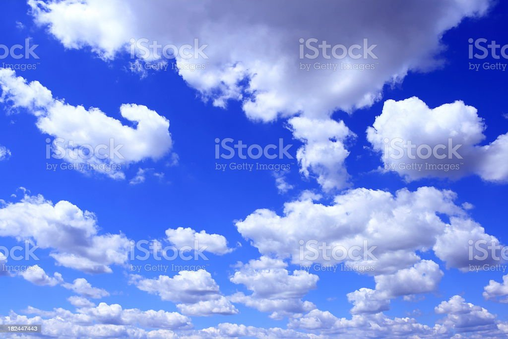 Cloudy Background royalty-free stock photo
