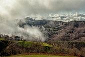 Cloudy Balkan Montains