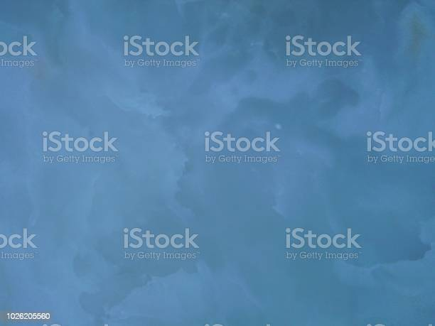Cloudy blue abstract - 6