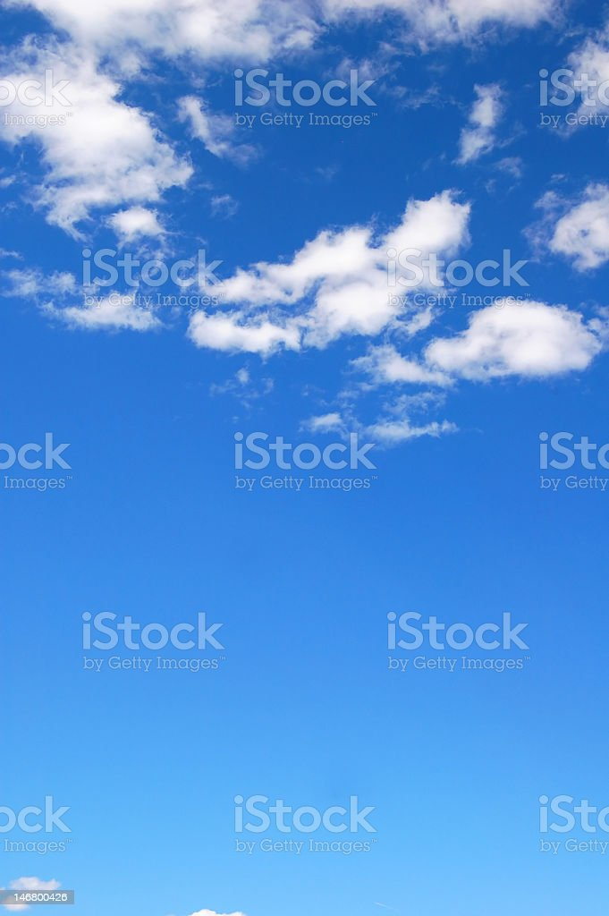 cloudy blue sky royalty-free stock photo
