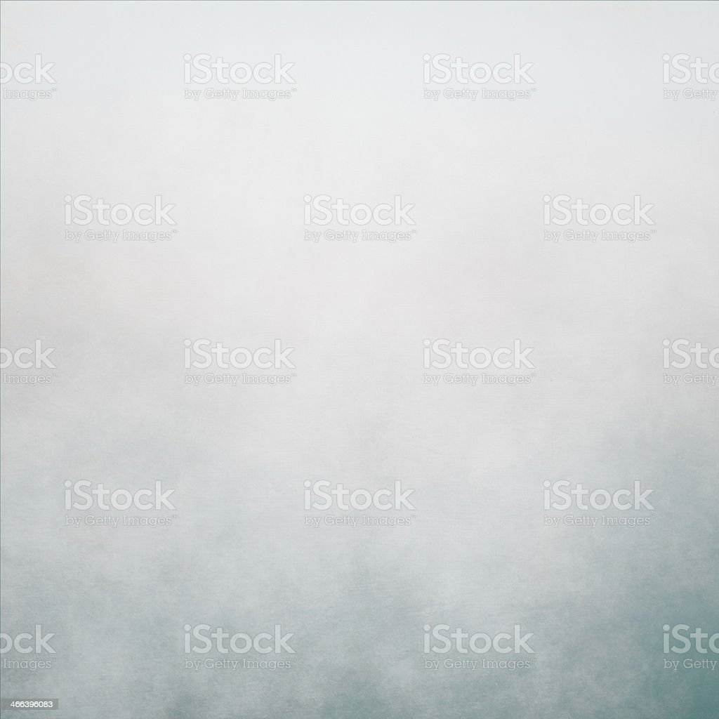 Cloudy gray sky covering most of background stock photo