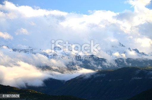 Cloudy Mountains