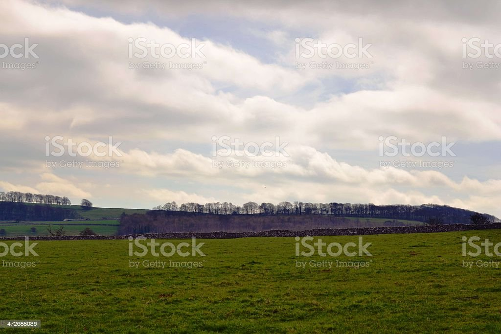 Cloudy Overcast stock photo