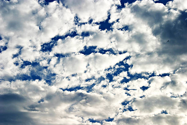 Cloudy Skies stock photo