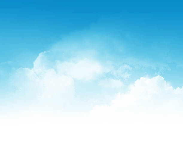 Cloudy sky abstract background stock photo