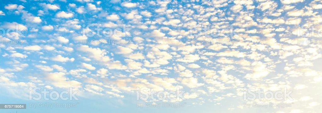 Fotografía De Fondo Abstracto De Cielo Nublado Color Azul Claro De