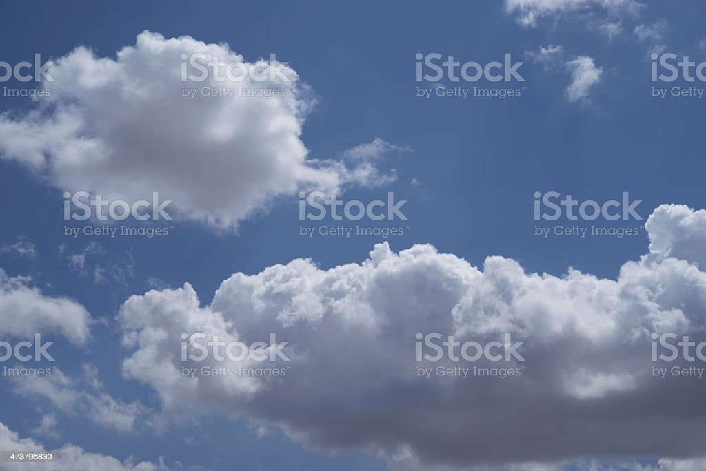 Cloudy Sky Background royalty-free stock photo