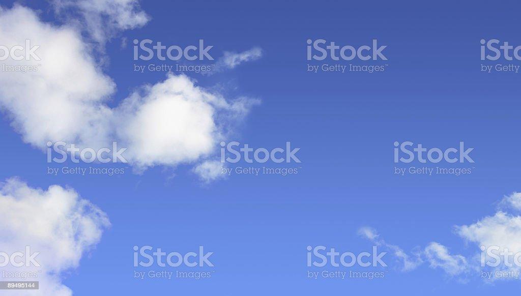 Cloudy sky background royalty free stockfoto