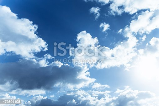 istock Cloudy sky 479801108