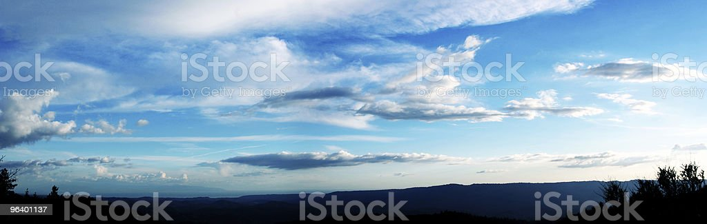 Cloudy sky - Royalty-free Agricultural Field Stock Photo