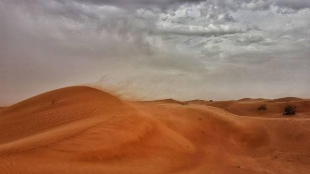 Trümelige windige Wüste – Foto