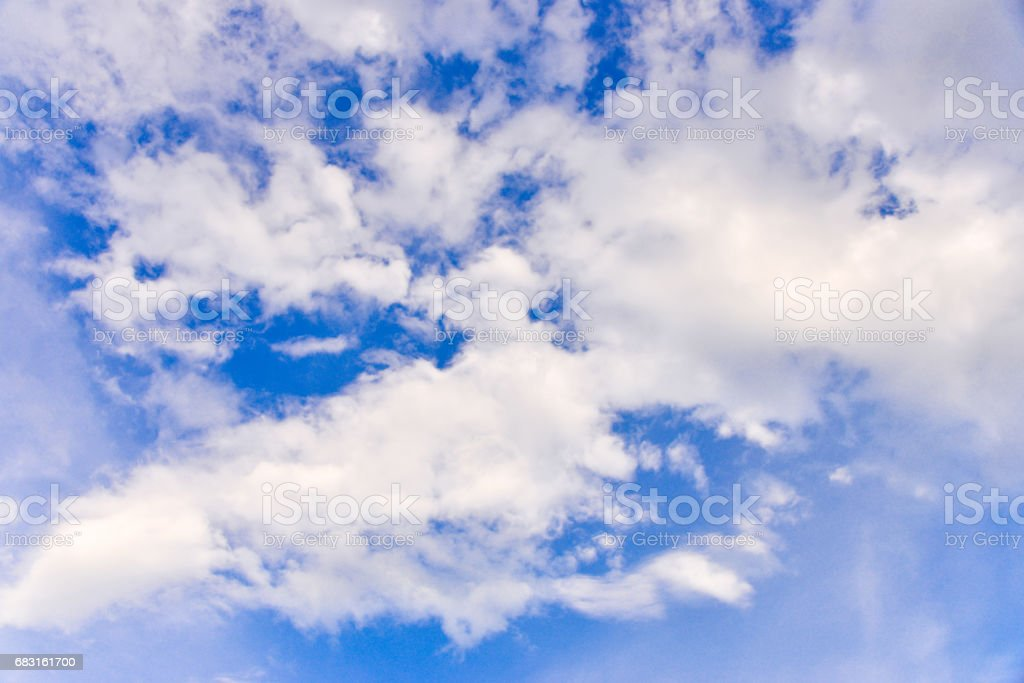 clound with blue sky. royalty-free 스톡 사진