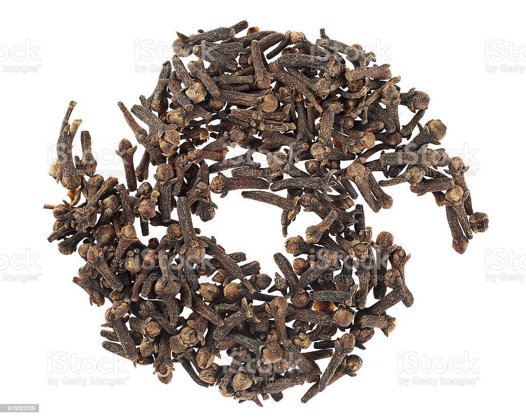 Clove spice royalty-free stock photo
