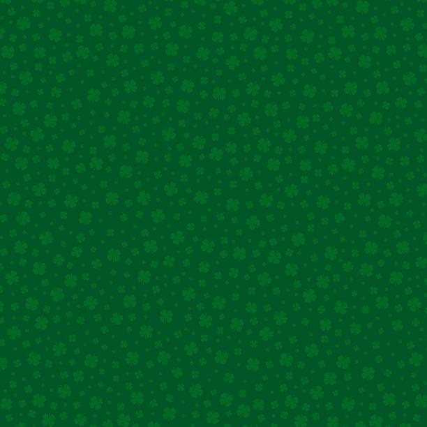 Clover Pattern XXL stock photo