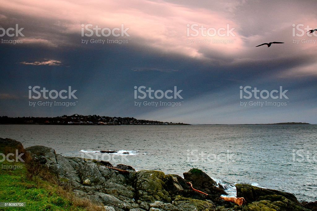 Clover Point stock photo