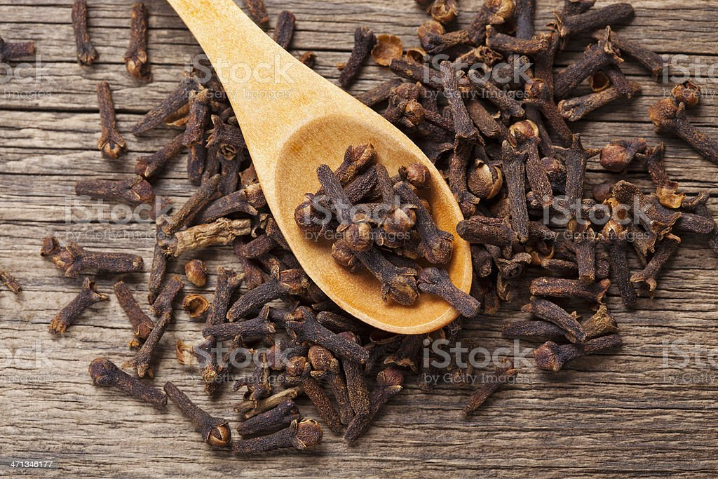 Cloves closeup stock photo