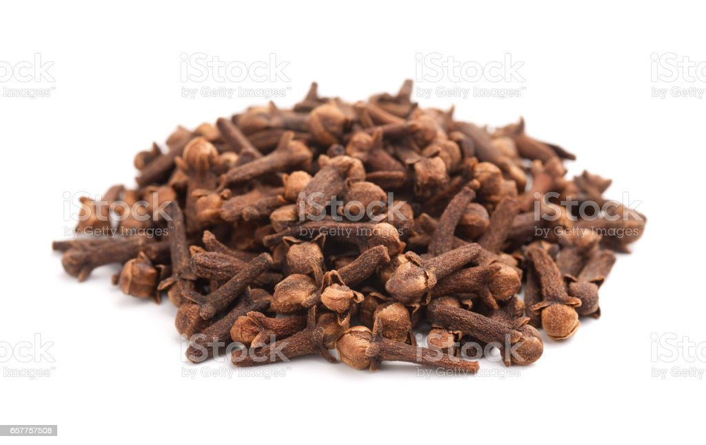 Cloves spice stock photo