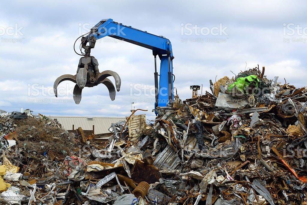 Clow Crane stock photo