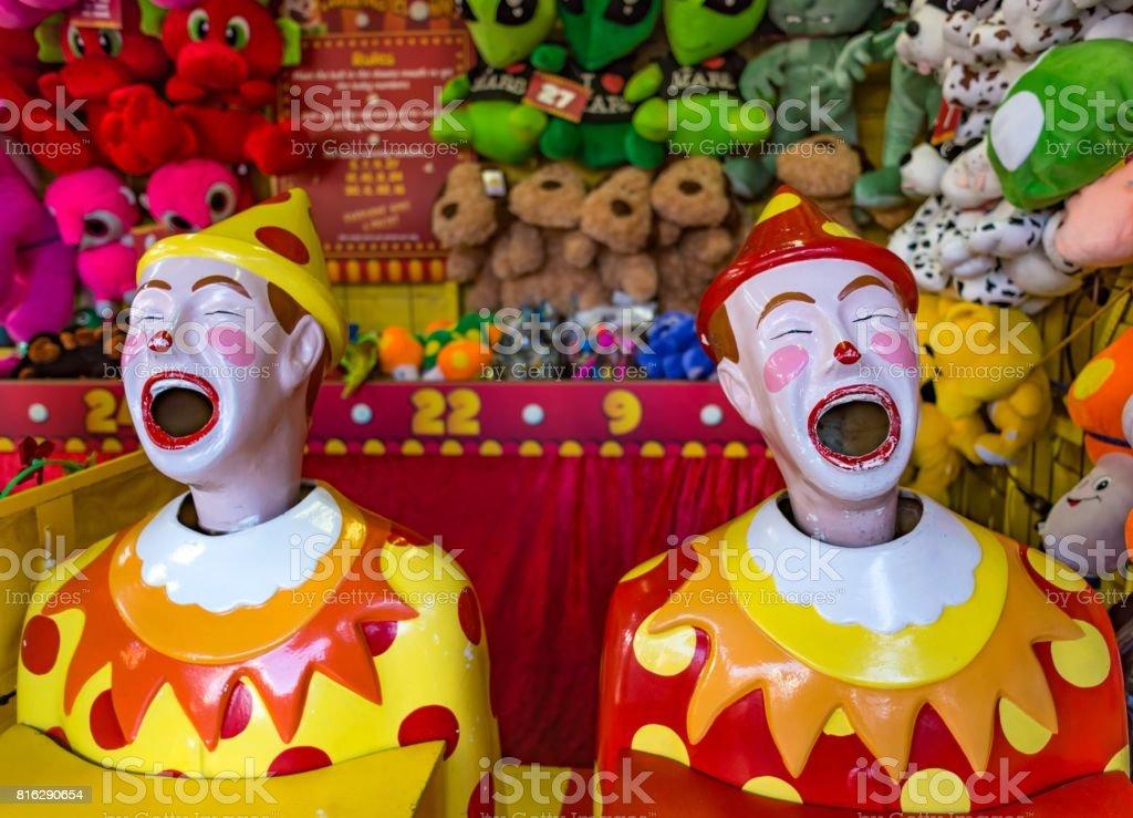 Clown Ball Machines stock photo