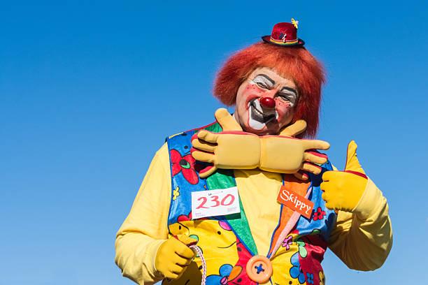 Clown dans le Golden Dragon Parede. - Photo