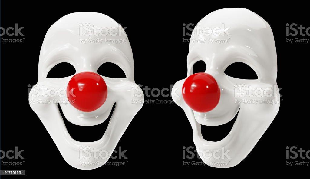 Clown Masks stock photo