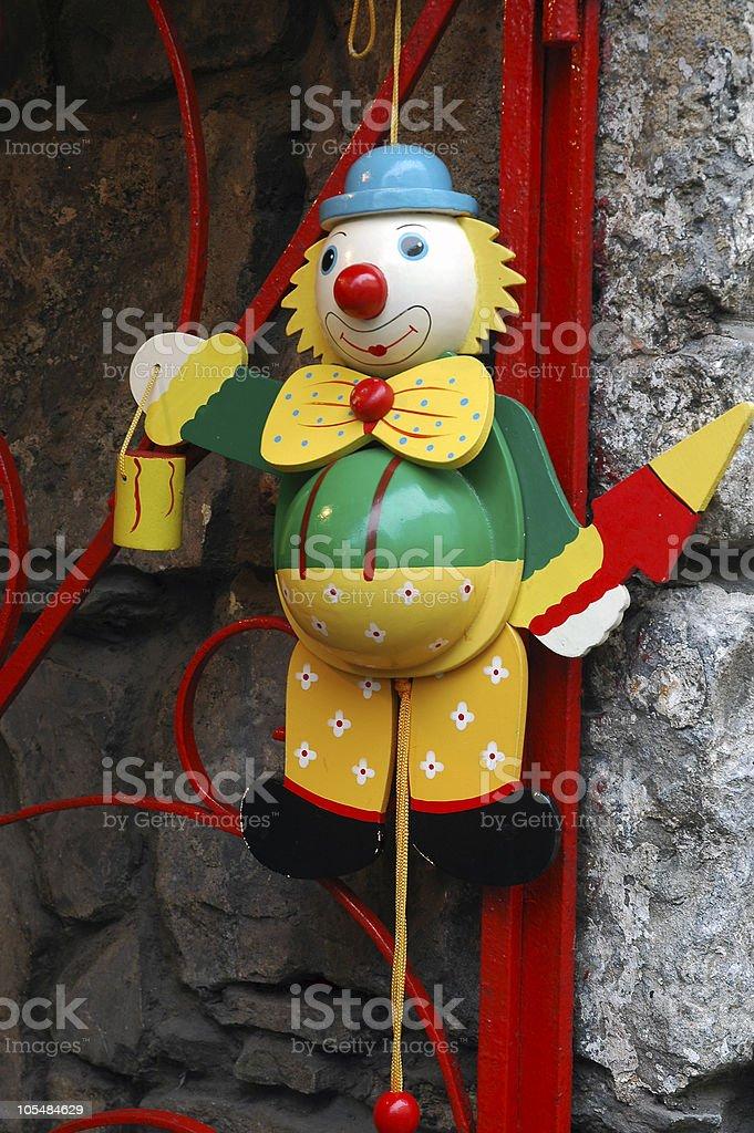 Clown Painter royalty-free stock photo