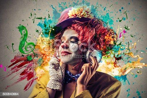 istock Clown 500840664