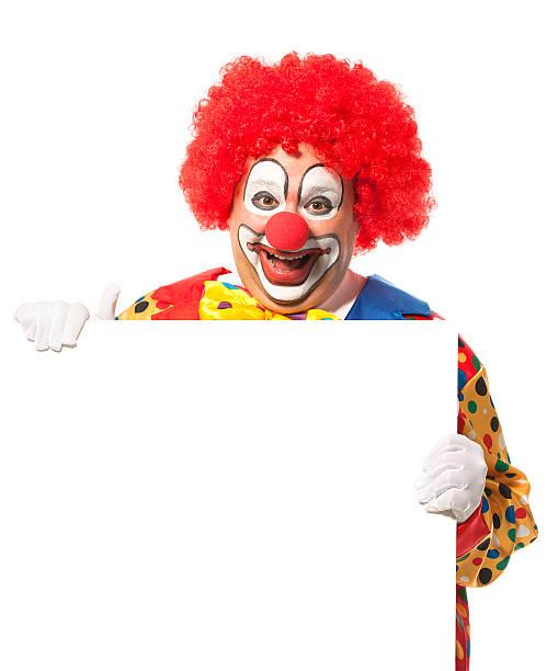 clown - faschingssprüche stock-fotos und bilder