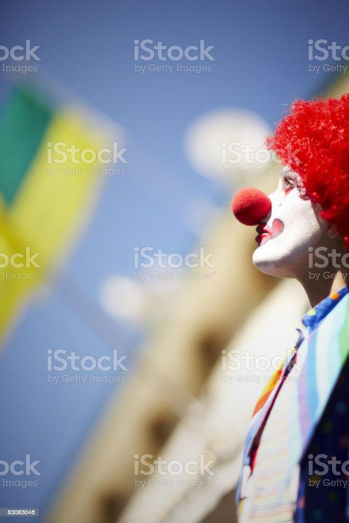 clown foto stock royalty-free