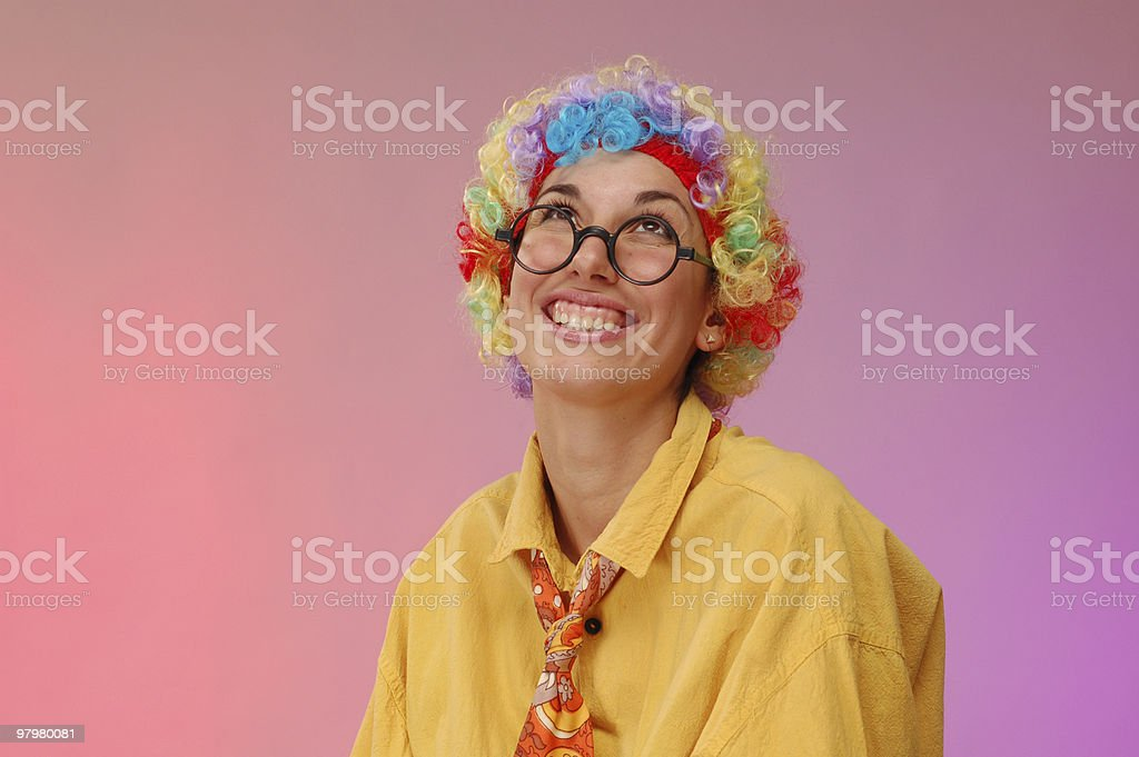 clown royalty-free stock photo