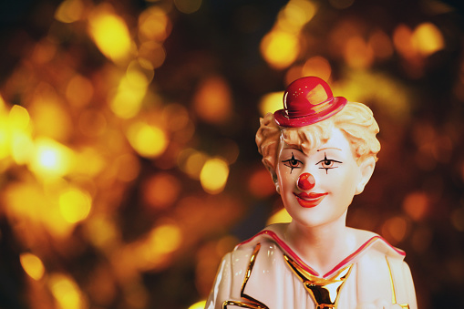 Clown Porcelain Figure Studio