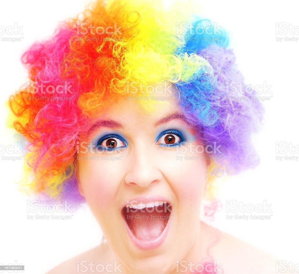 Clowning Around royalty-free stock photo