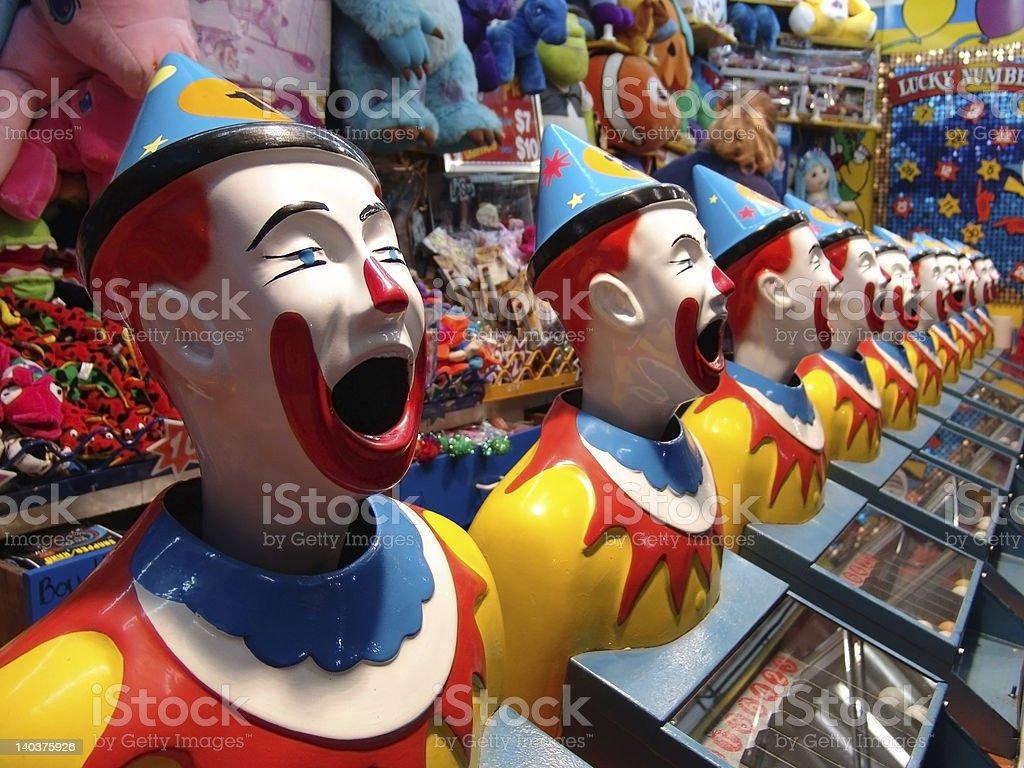 Clowns stock photo