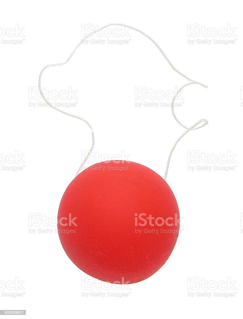 Clownsnase mit Gummiband stock photo