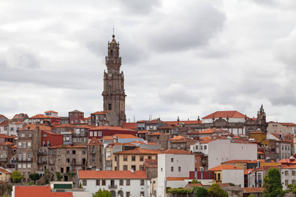 Clérigos Tower in Porto stock photo