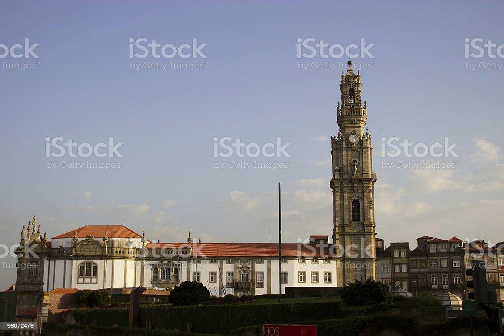 Clérigos Tower royalty-free stock photo