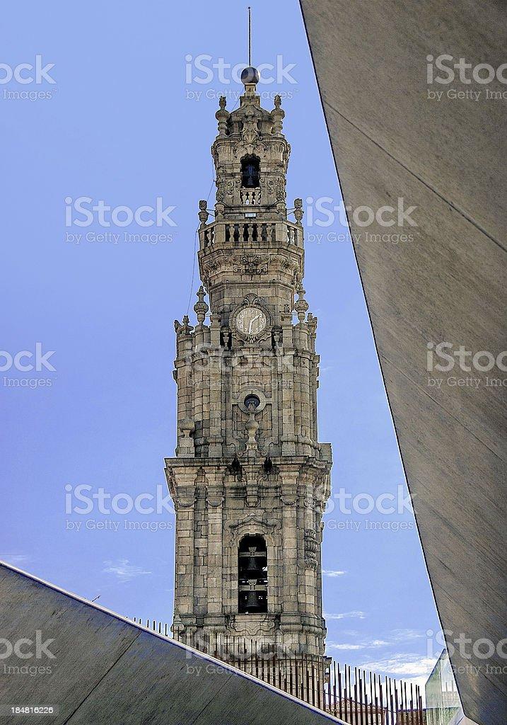 Clérigos Tower, Porto, Portugal stock photo
