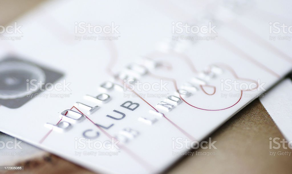 Club Card royalty-free stock photo